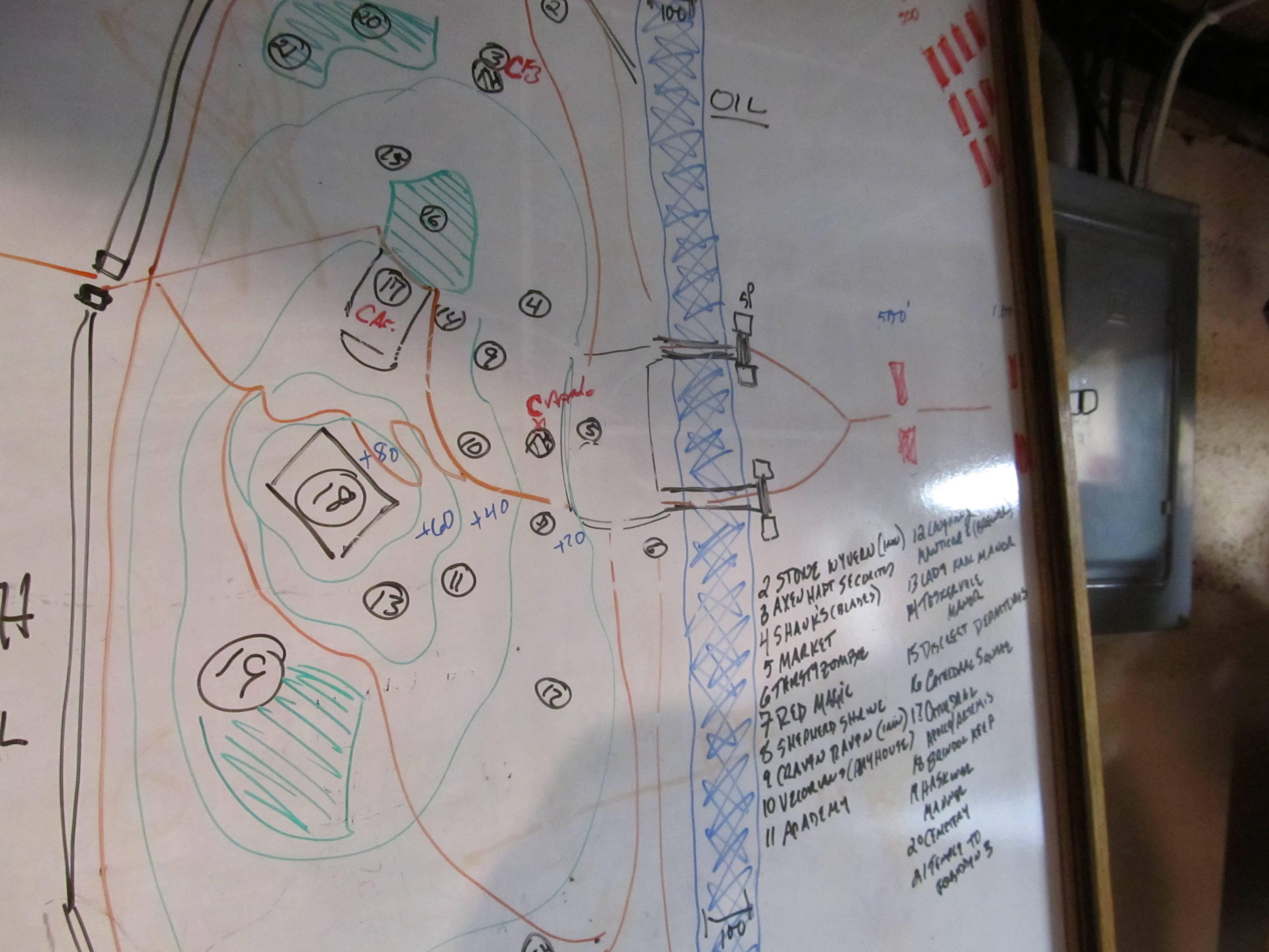D&D Burgoo (3 5/Pathfinder): Whiteboard's growing appeal