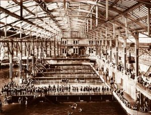 The Sutro Baths were a really cool thing from the past.