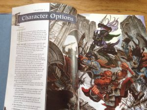 Start of the character themes section from the Neverwinter Campaign Setting. (Wizards of the Coast, 2011).