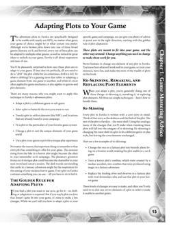 Eureka Sample 3: The GMing Chapter