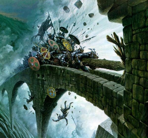 """Battle of Helms Deep"", Darrell K. Sweet"