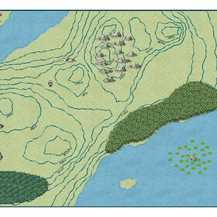 Extrema Drop Map