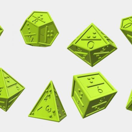 Tabletop Gaming and the Visually Impaired