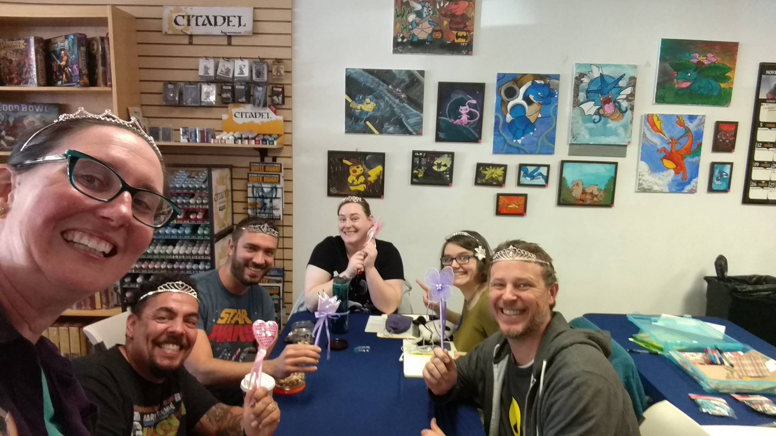 Everyone is excited about their wand and tiara props! When players are a good fit with one another it is easier to have a good time! Understanding what you want from a game group is an important first step towards having a good experience.