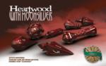 PolyHero Heartwood Wizard Dice