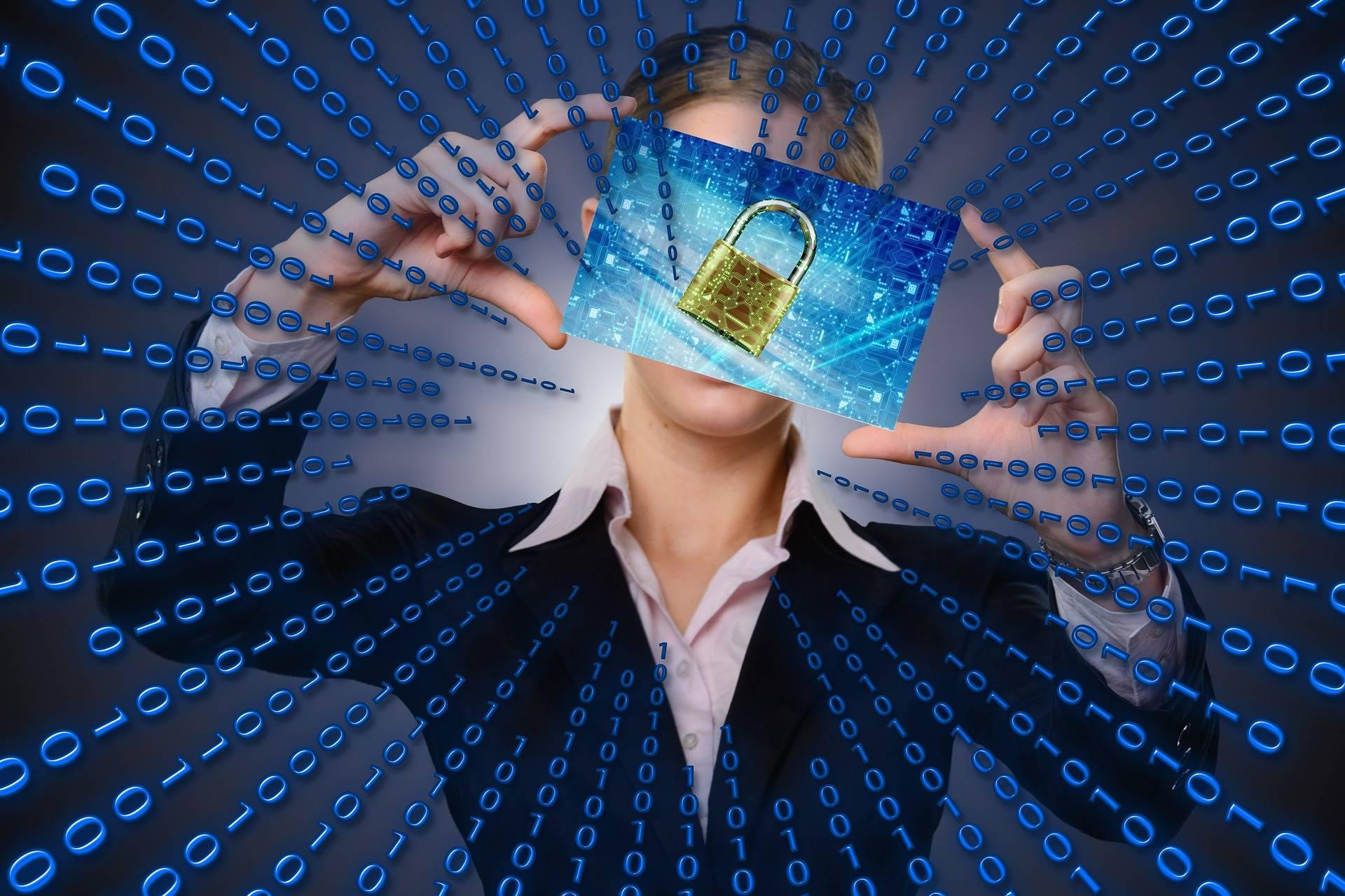 Matrix Computer Security Image