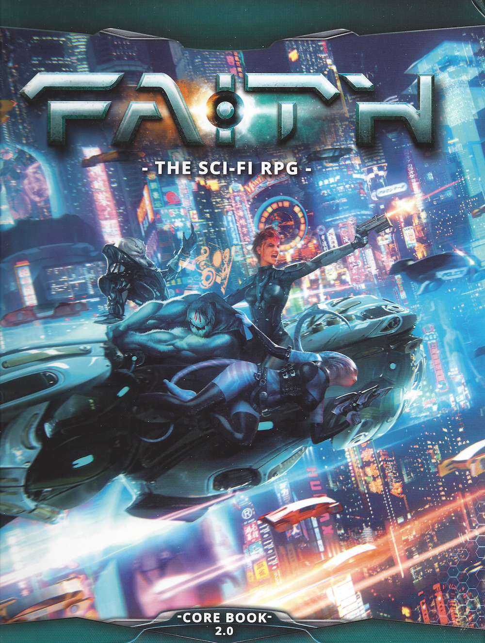FAITH Sci-Fi RPG Cover