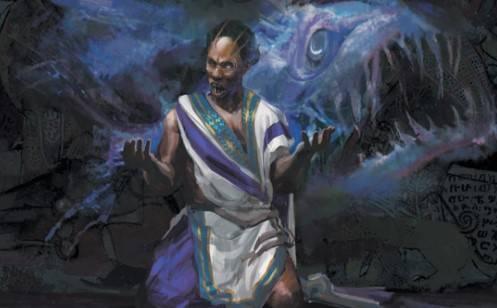 An ephemeral spirit temps a man with power.