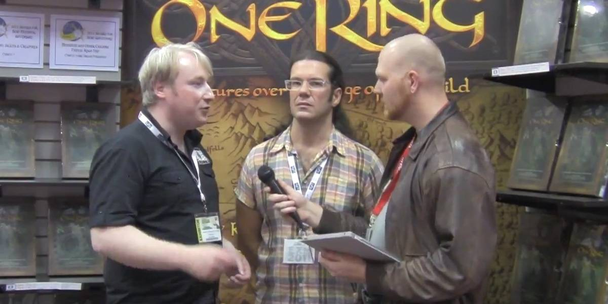 John Arcadian interviews Cubicle 7 about The One Ring