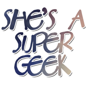 She's a Super Geek logo