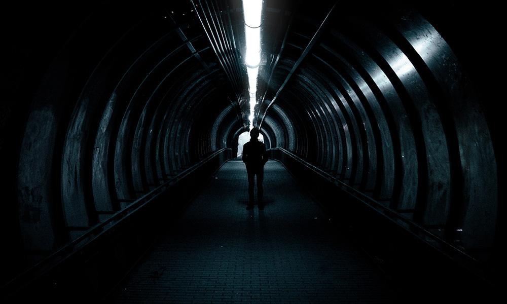 Dark and eerie
