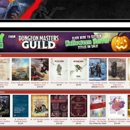Getting Started on the DMs Guild – Part 2: Publishing and Marketing