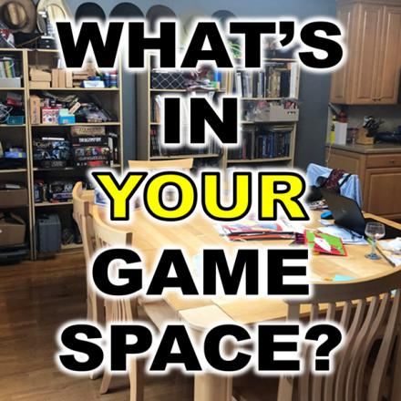 Our game space and some ideas for yours!