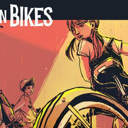 Take Me to the Upside down – a Review of Kids on Bikes