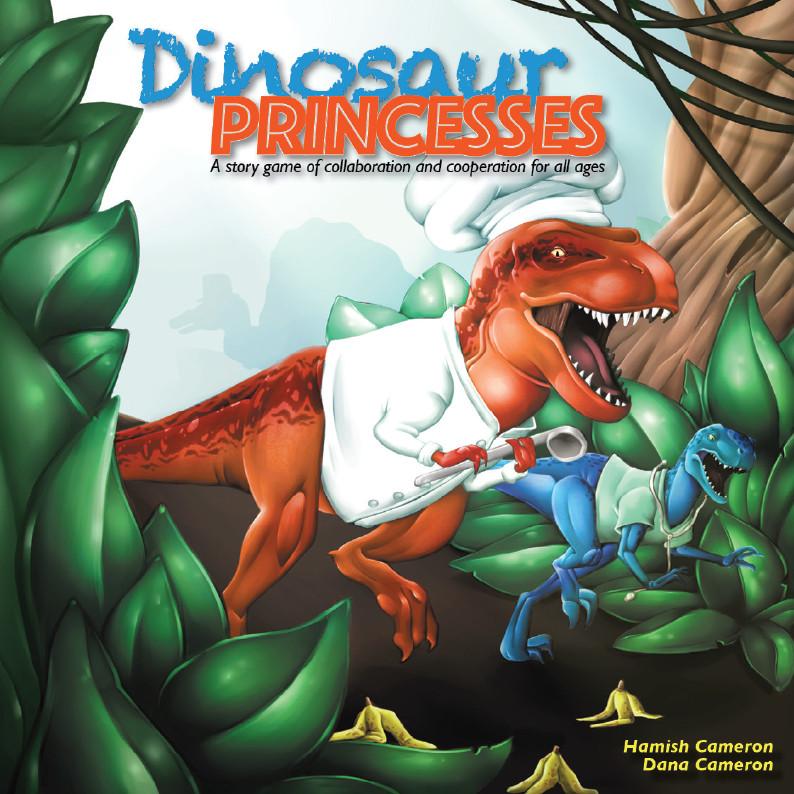 Dinosaur Princesses cover