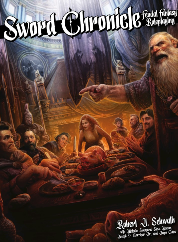 Sword Chronicle Feudal Fantasy Roleplaying Review