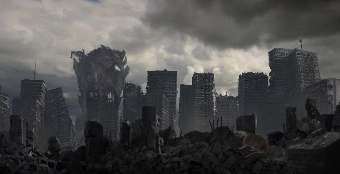 Starfinder Kyokor + Skeletal rats – Monster Combo