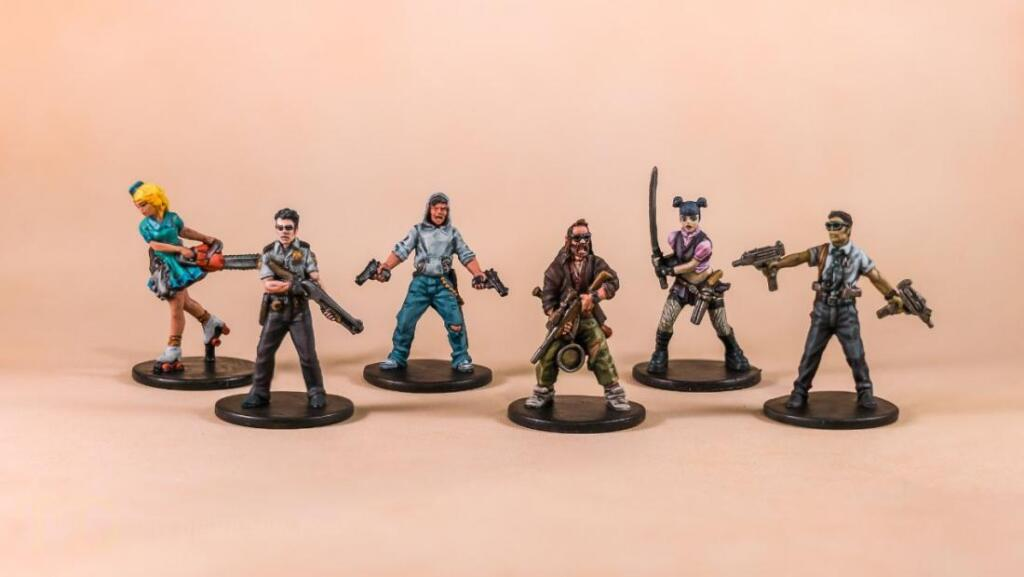 board game miniatures painted simple techniques
