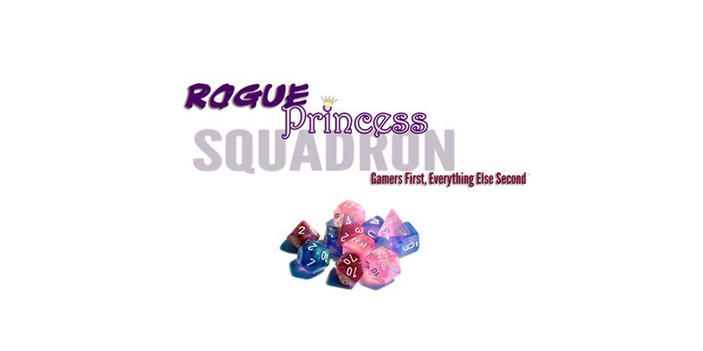 A slightly modified version of the Rogue Princess Squadron Logo