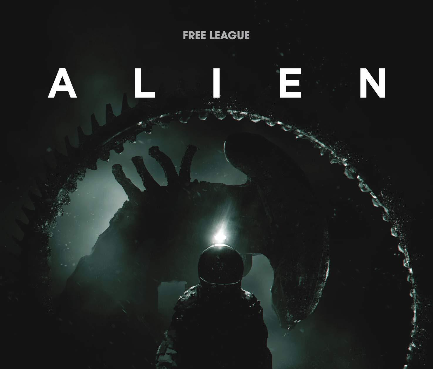 Cover of the Alien RPG from Free League
